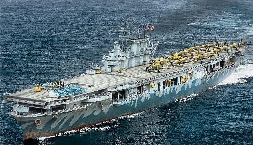 USS HORNET 1/200 MERIT + BIG ED Eduard + MK1 - Page 5 Img_1815