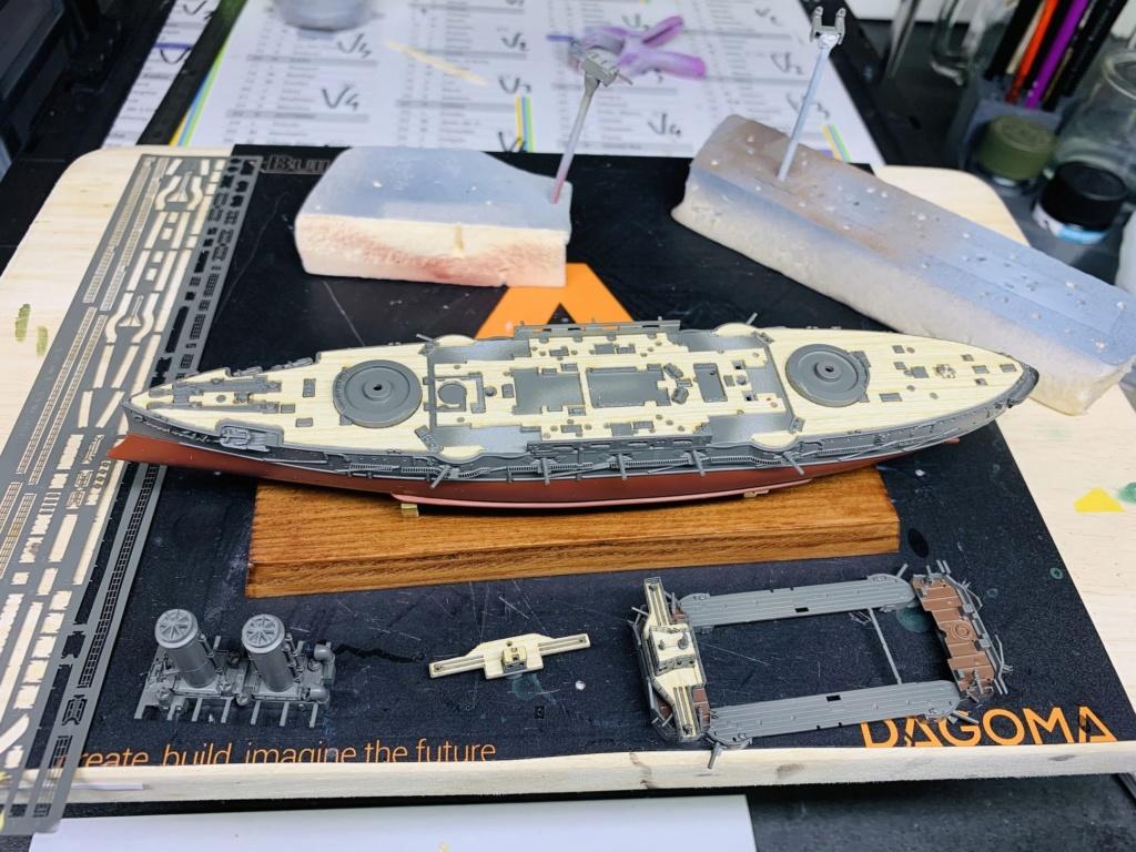 LE MIKASA 1/700 de HASEGAWA full hull + PE + wood deck Img_2526