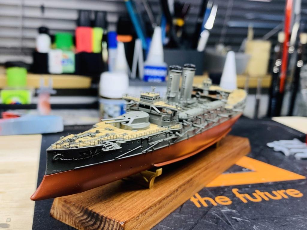 LE MIKASA 1/700 de HASEGAWA full hull + PE + wood deck Img_2533