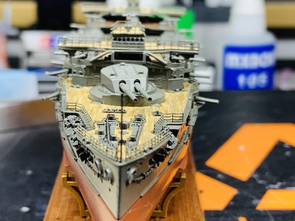 LE MIKASA 1/700 de HASEGAWA full hull + PE + wood deck - Page 2 Img_2535