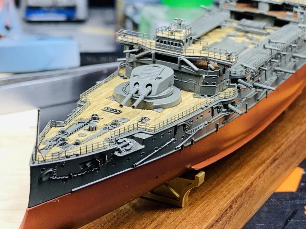 LE MIKASA 1/700 de HASEGAWA full hull + PE + wood deck - Page 2 Img_2536