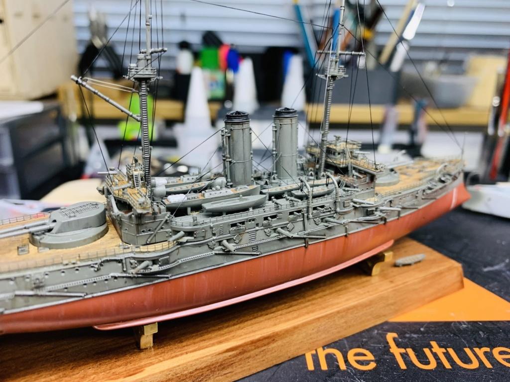 LE MIKASA 1/700 de HASEGAWA full hull + PE + wood deck - Page 2 Img_2617