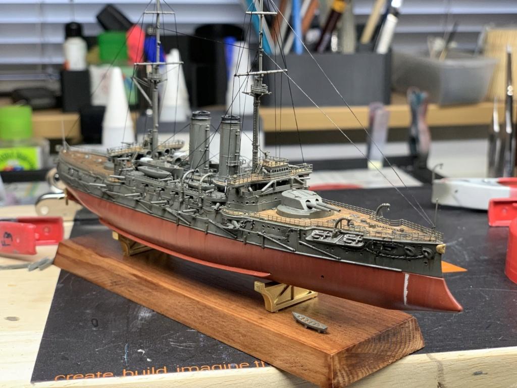 LE MIKASA 1/700 de HASEGAWA full hull + PE + wood deck - Page 2 Img_2618