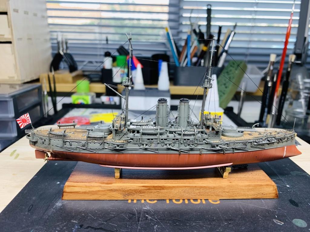 LE MIKASA 1/700 de HASEGAWA full hull + PE + wood deck - Page 2 Img_2621