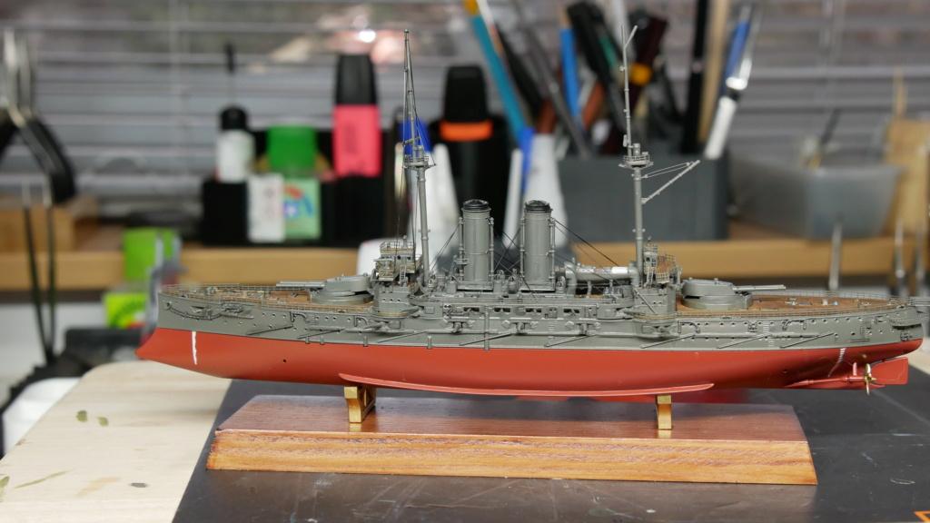 LE MIKASA 1/700 de HASEGAWA full hull + PE + wood deck - Page 2 P1000210