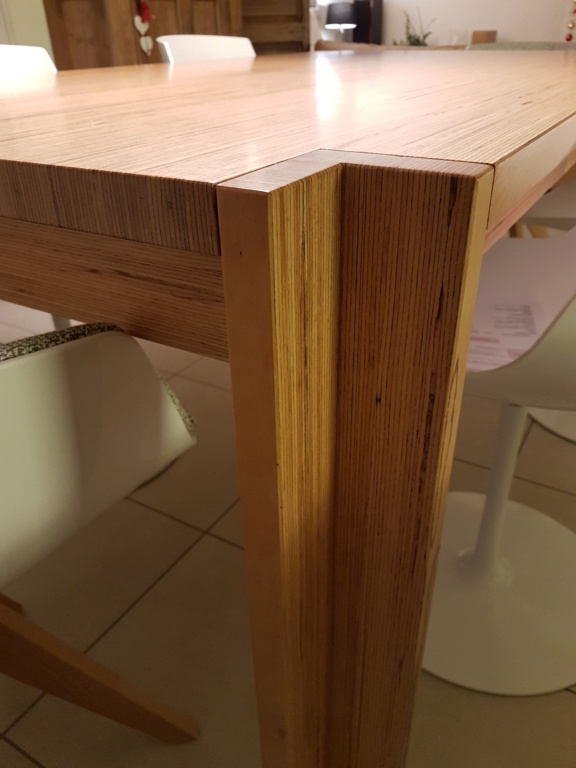 Un exemple de table en Baubuche Table111