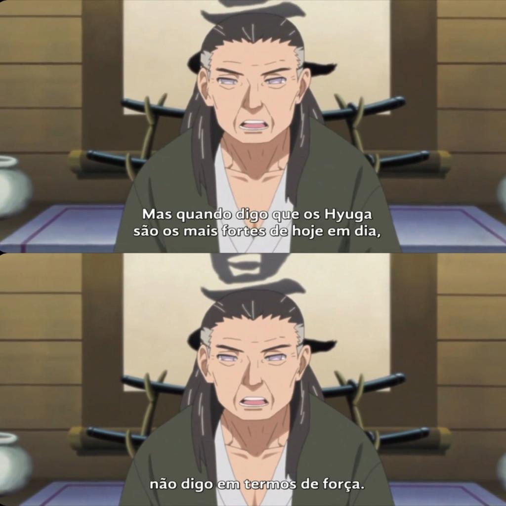 O clã hyuuga é o mais forte de konoha. procede? 20200117