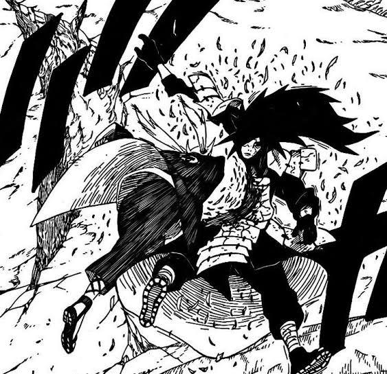 Tsunade vs Itachi e Kisame (Clássico) Image328