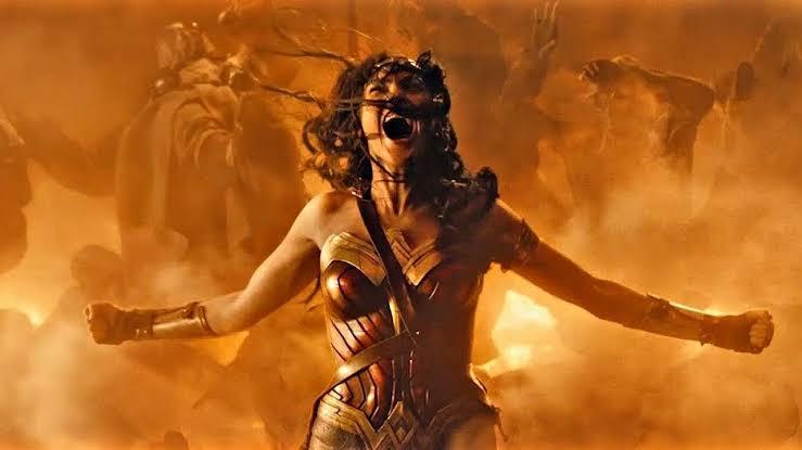 Tsunade vs Wonder Woman DCEU Image475