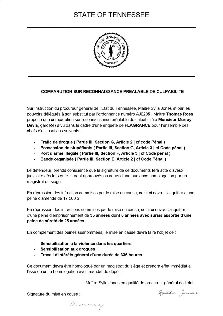 [Classé] (GTF)Transmission d'un dossier au bureau procureur #1 Accord10