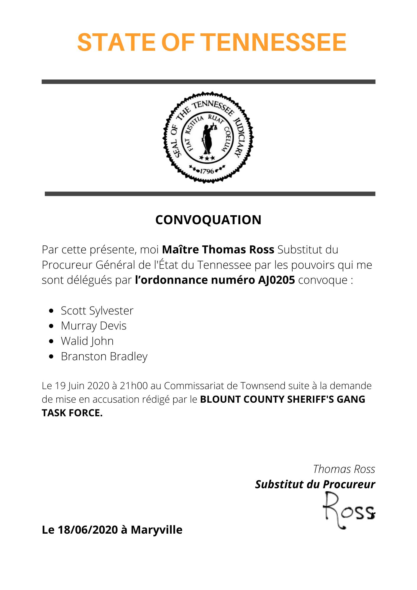 [Classé] (GTF)Transmission d'un dossier au bureau procureur #1 State_10