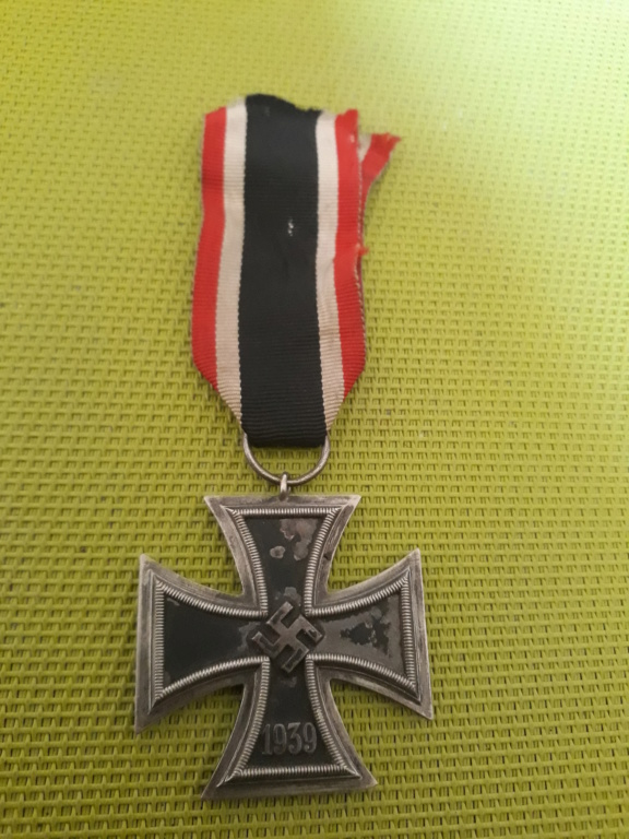Croix de fer allemande ww2  15631215