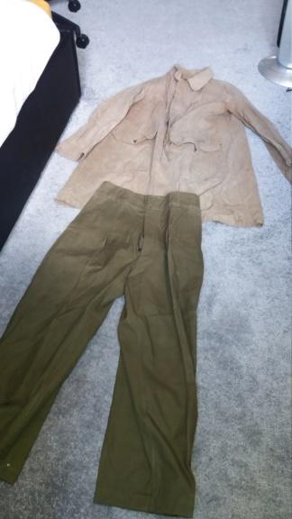 Veste avec pantalon manufacture francaise d'armes et de cycle de st etienne 15631910