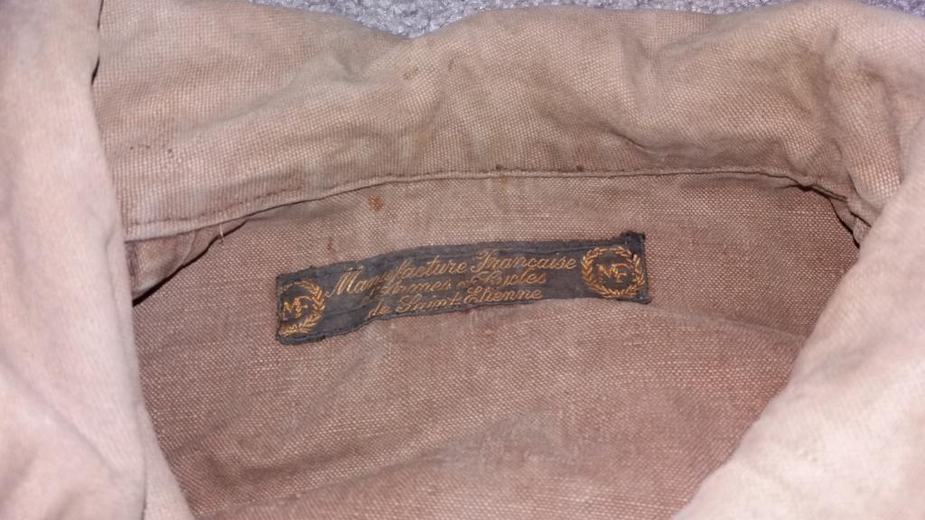 Veste avec pantalon manufacture francaise d'armes et de cycle de st etienne 15631911