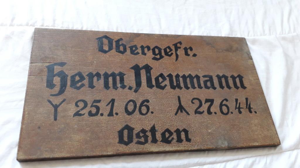 Plaque funéraire allemande ww2 15633610