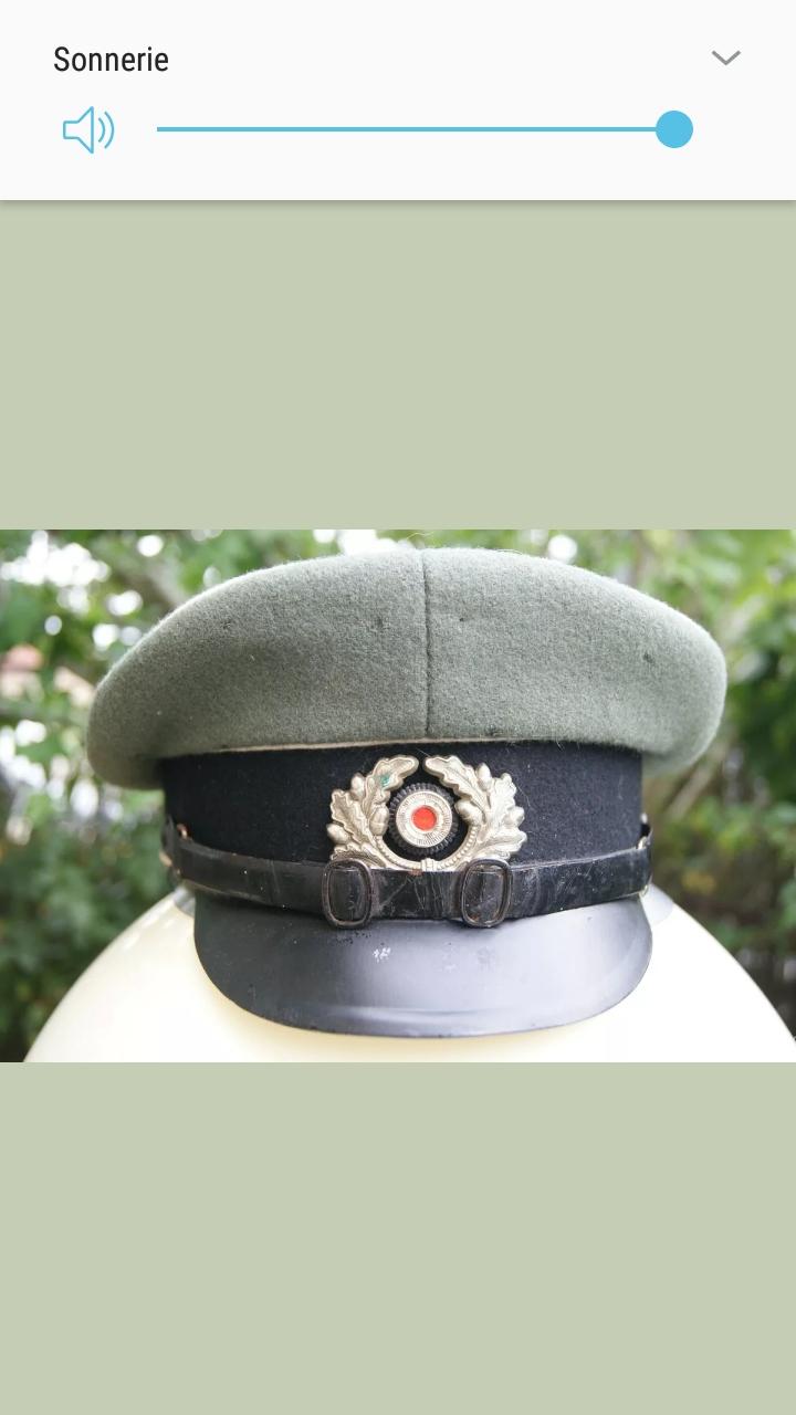 Casquette officier allemand Screen31