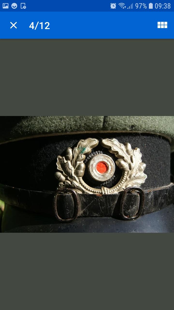 Casquette officier allemand Screen34