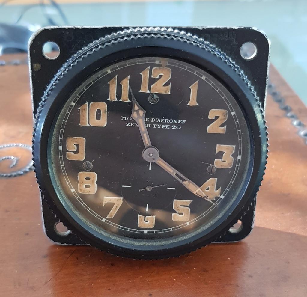 Démontage de la montre militaire Zenith Type B  20190710