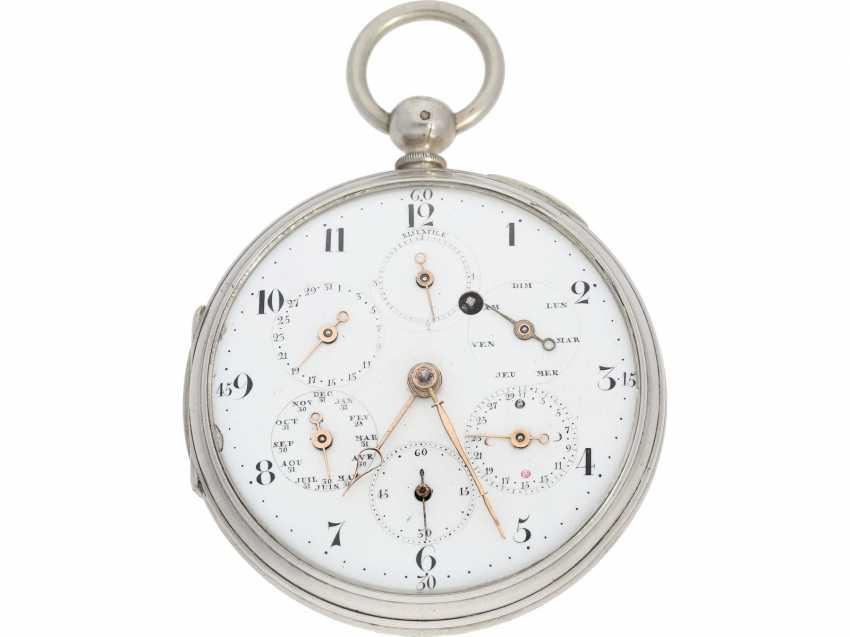 Deux montres anciennes identiques mais mécanismes différents ? 43237810