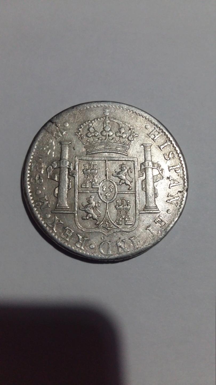 8 Reales 1798. Carlos IV. Mexico FM 20190828