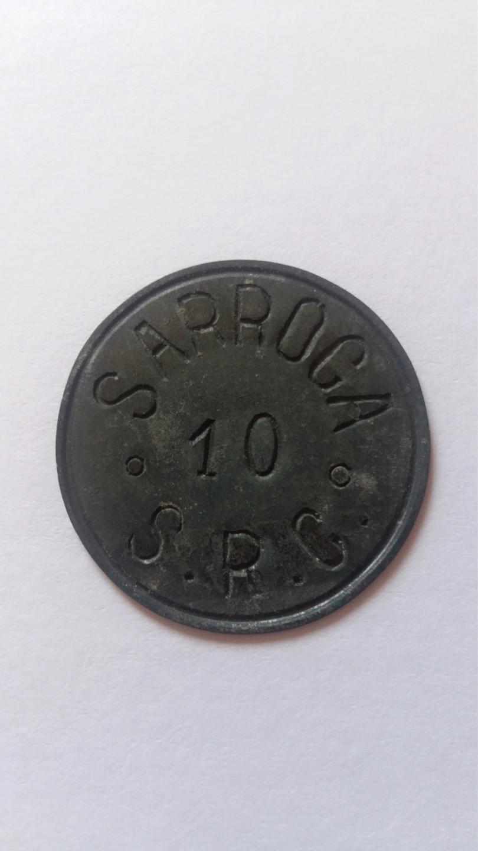 10 Céntimos de Peseta. Sarroca 20190852