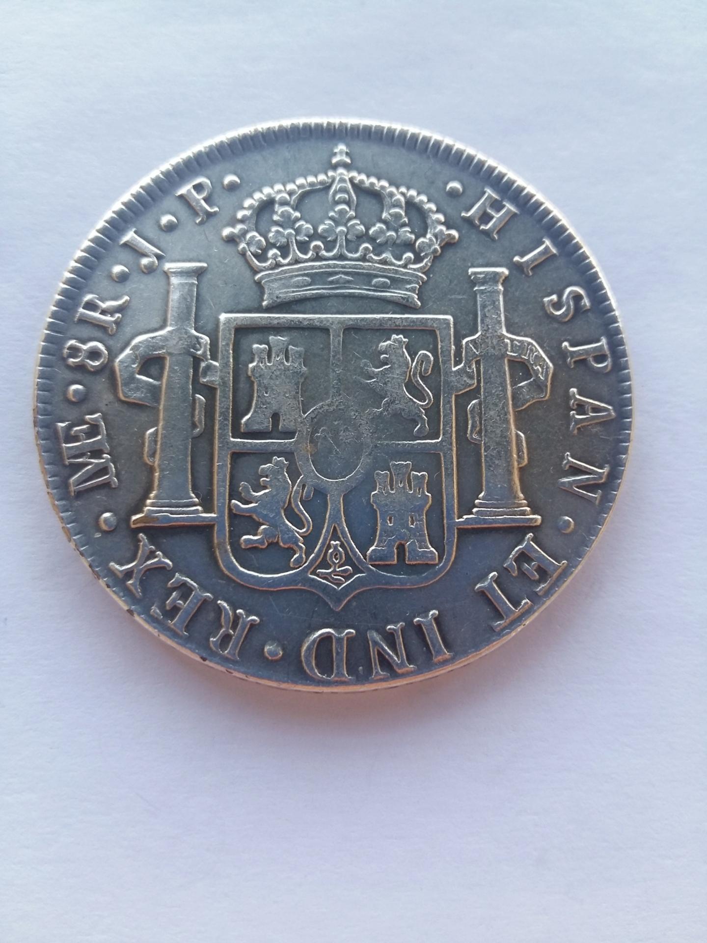 8 Reales 1805 Lima JP - Carlos IV 20191117