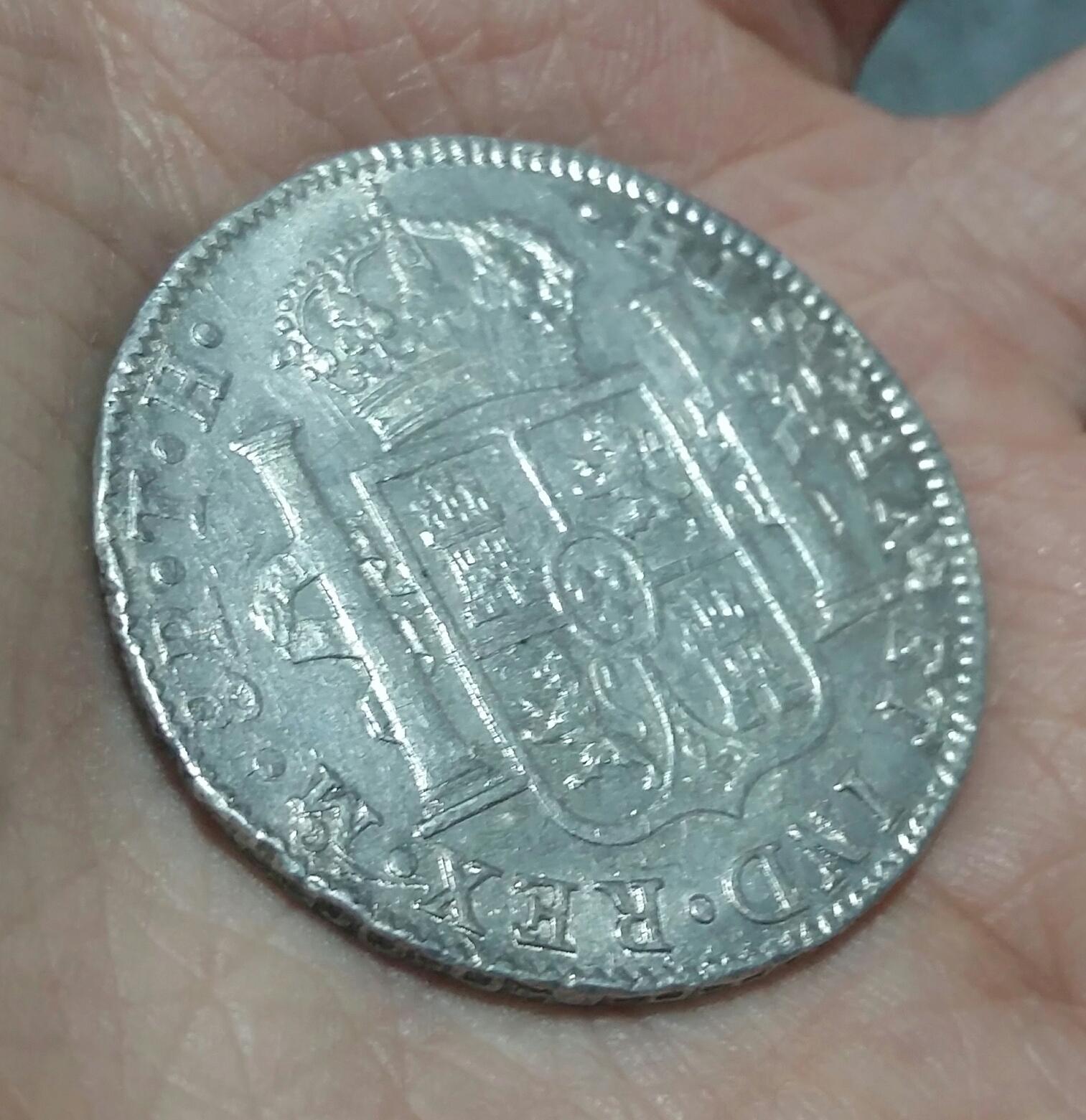 8 Reales 1808. Fernando VII. Méjico TH  20200120