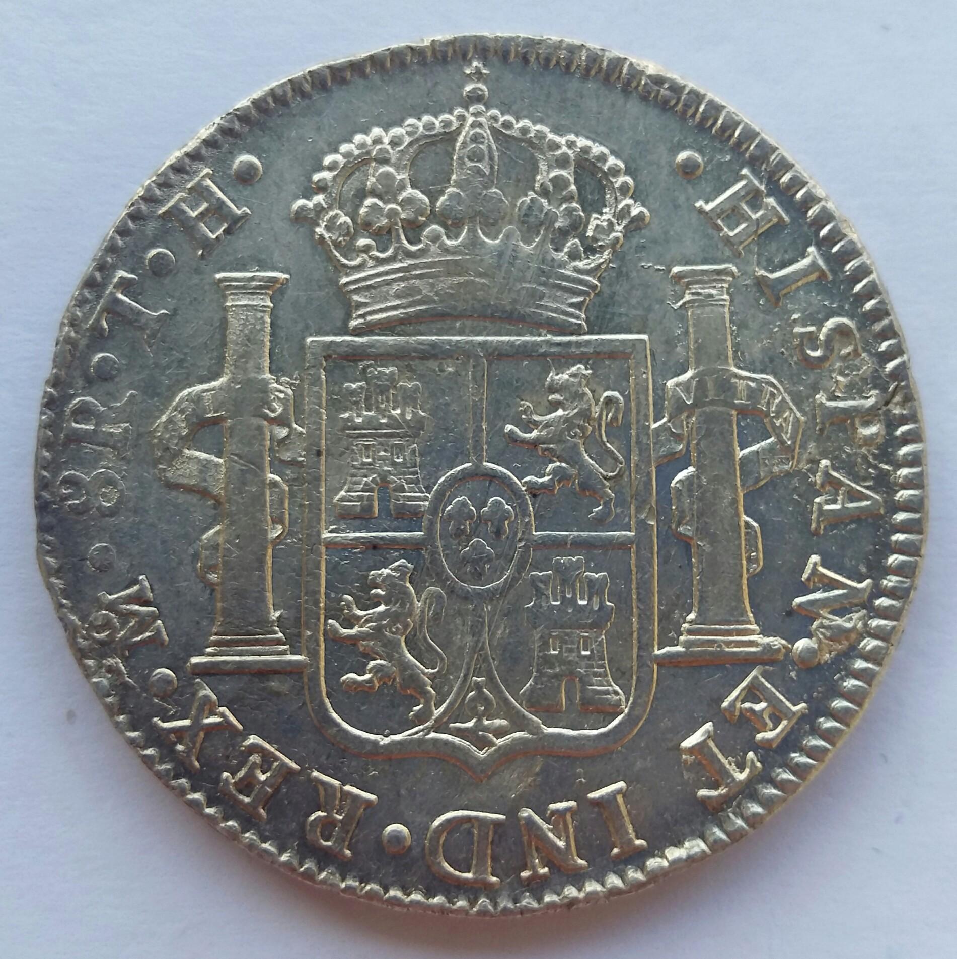8 Reales 1808. Fernando VII. Méjico TH  20200122