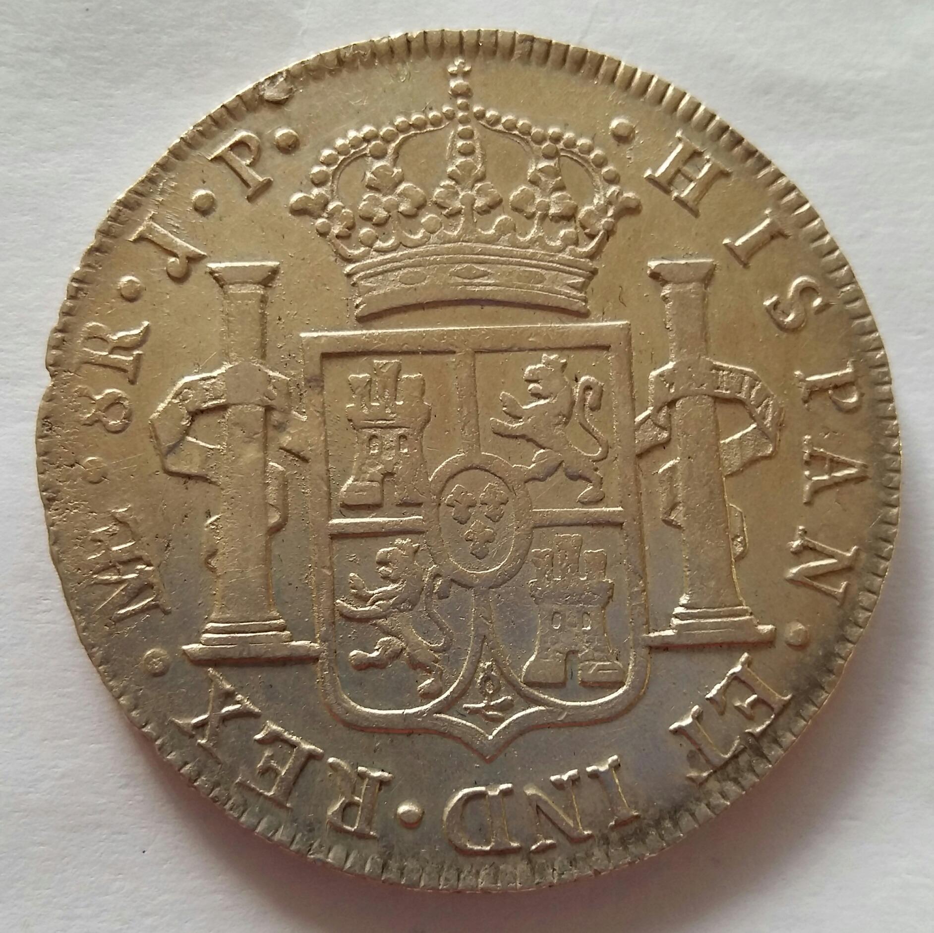 8 Reales 1816. Fernando VII. Lima JP  20200518