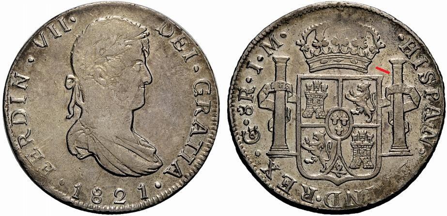 8 Reales 1821. Fernando VII. Guanajuato JM - Página 2 26211110