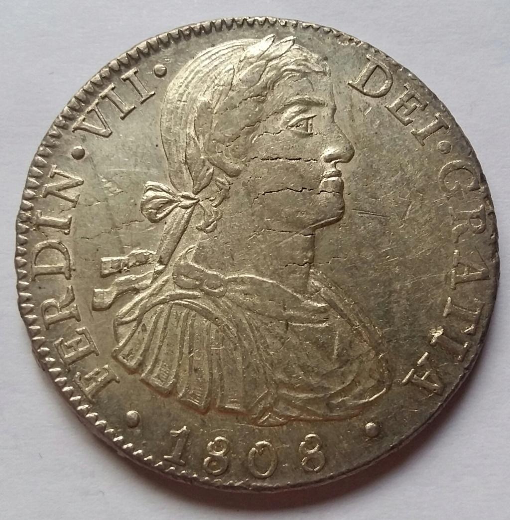 8 Reales 1808. Fernando VII. México TH  - Página 2 8_rea100