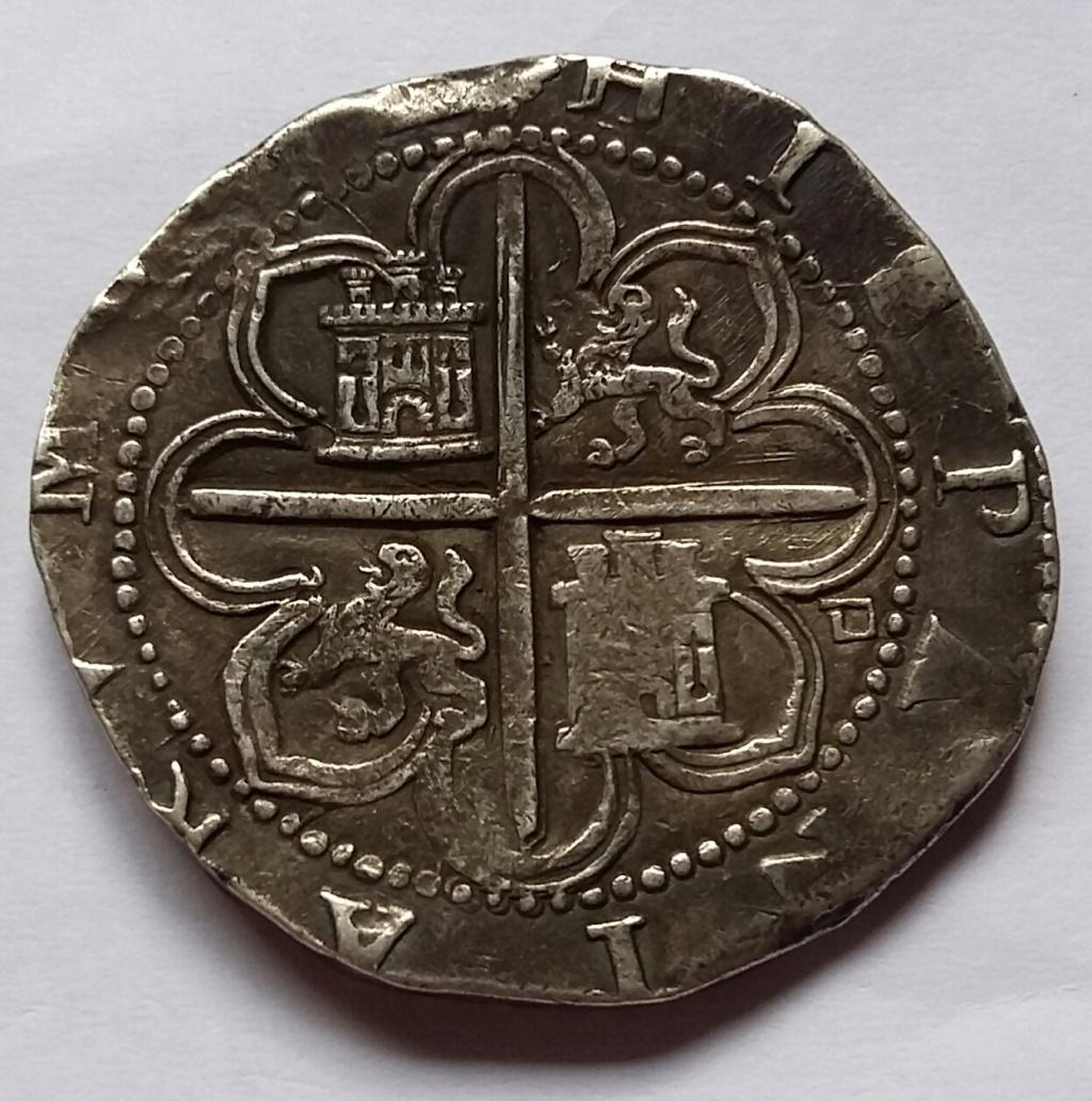 8 Reales. Felipe II. Sevilla D 8_rea128
