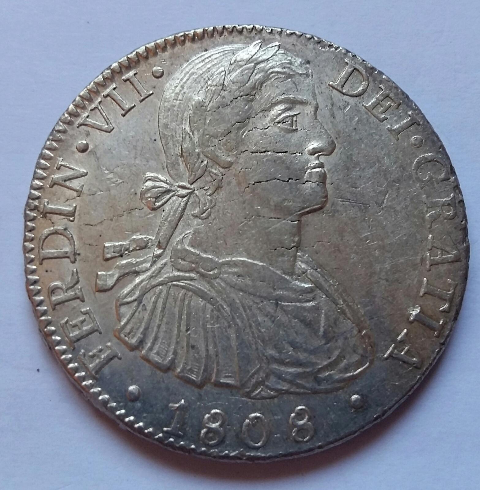 8 Reales 1808. Fernando VII. México TH  - Página 2 8_real22