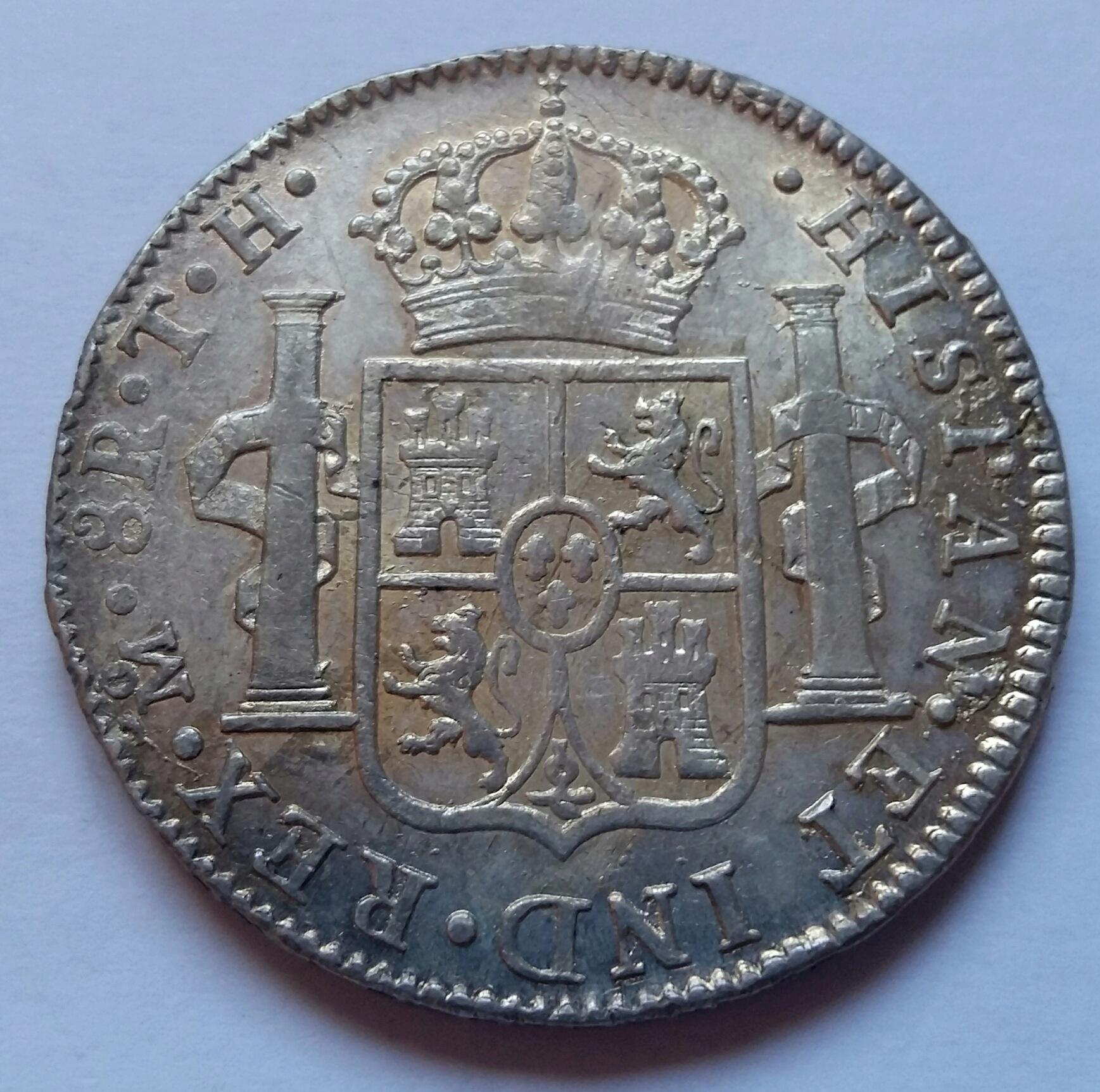 8 Reales 1808. Fernando VII. México TH  - Página 2 8_real23