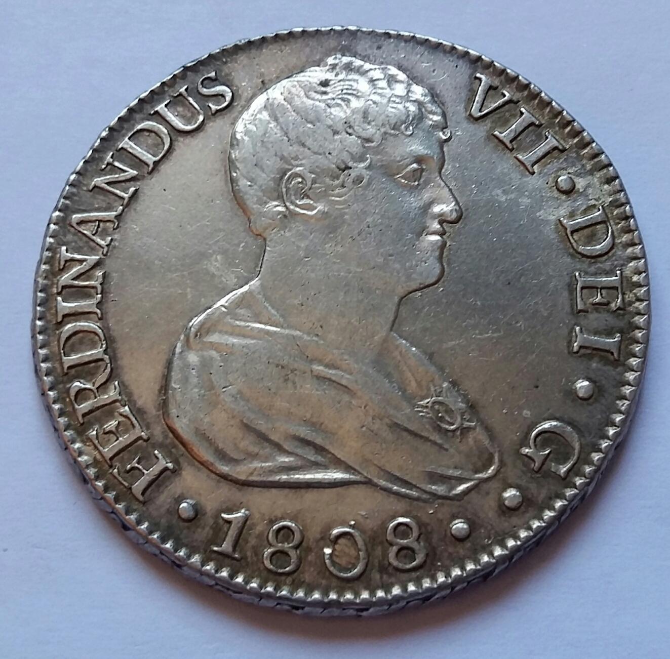 8 Reales 1808. Fernando VII. Sevilla CN 8_real49