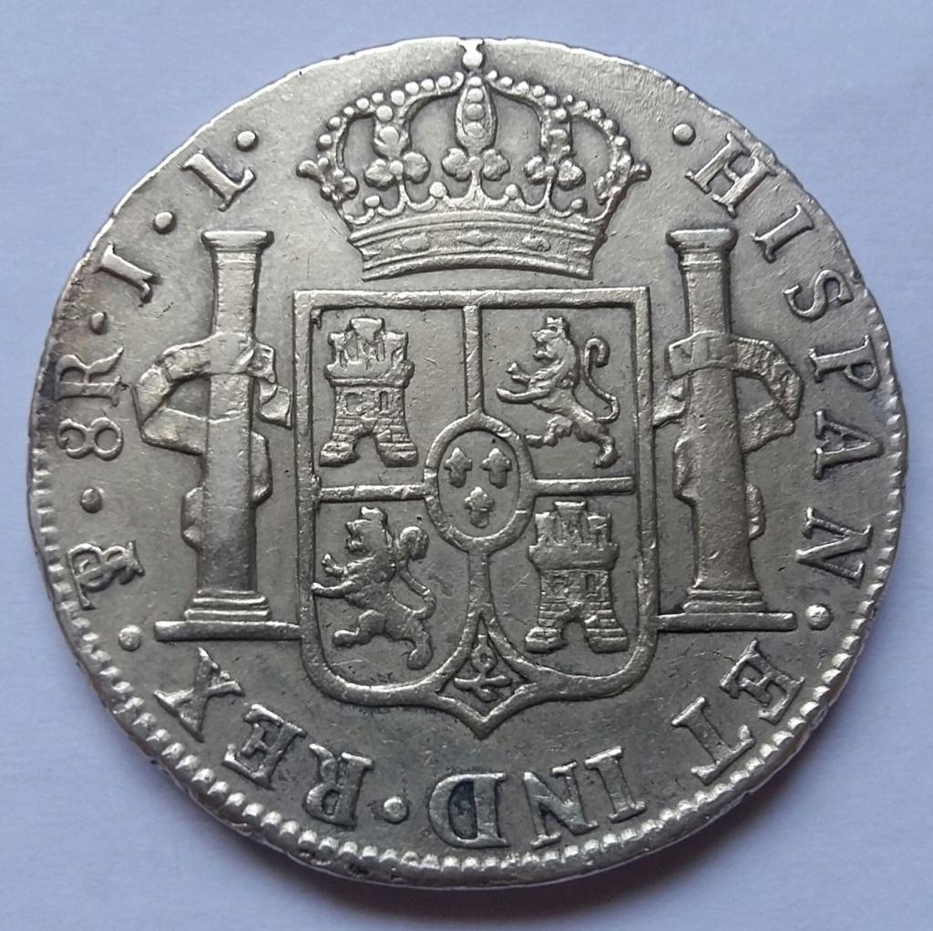 8 Reales 1825. Fernando VII. Potosí JL 8_real74