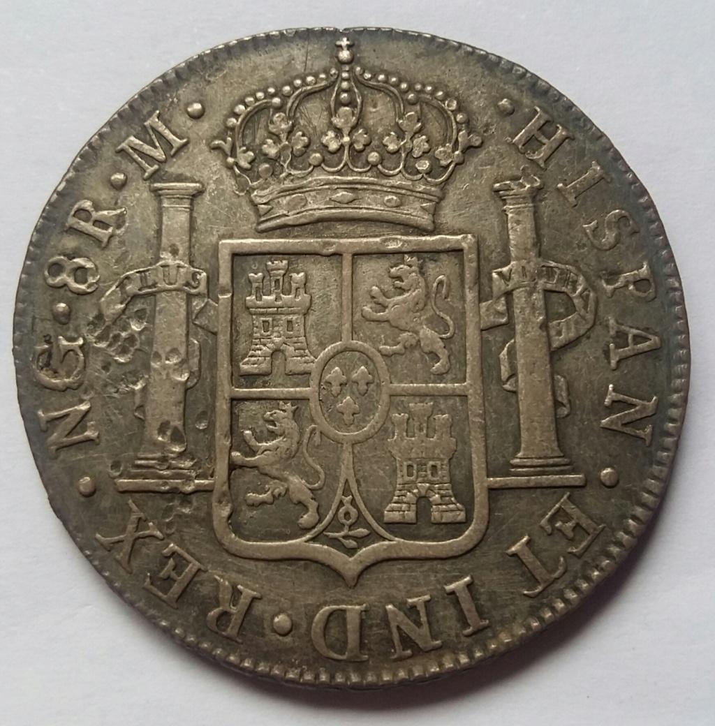 8 Reales 1819. Fernando VII. Guatemala NG 8_real97