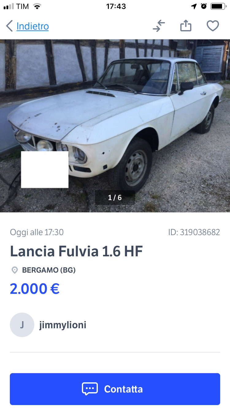 Fulvia hf in vendita F821e610