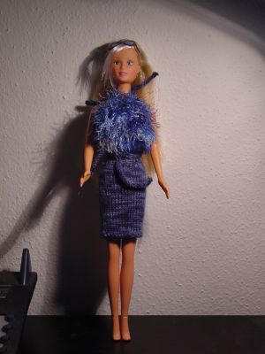 Rock + Oberteil. Barbie10
