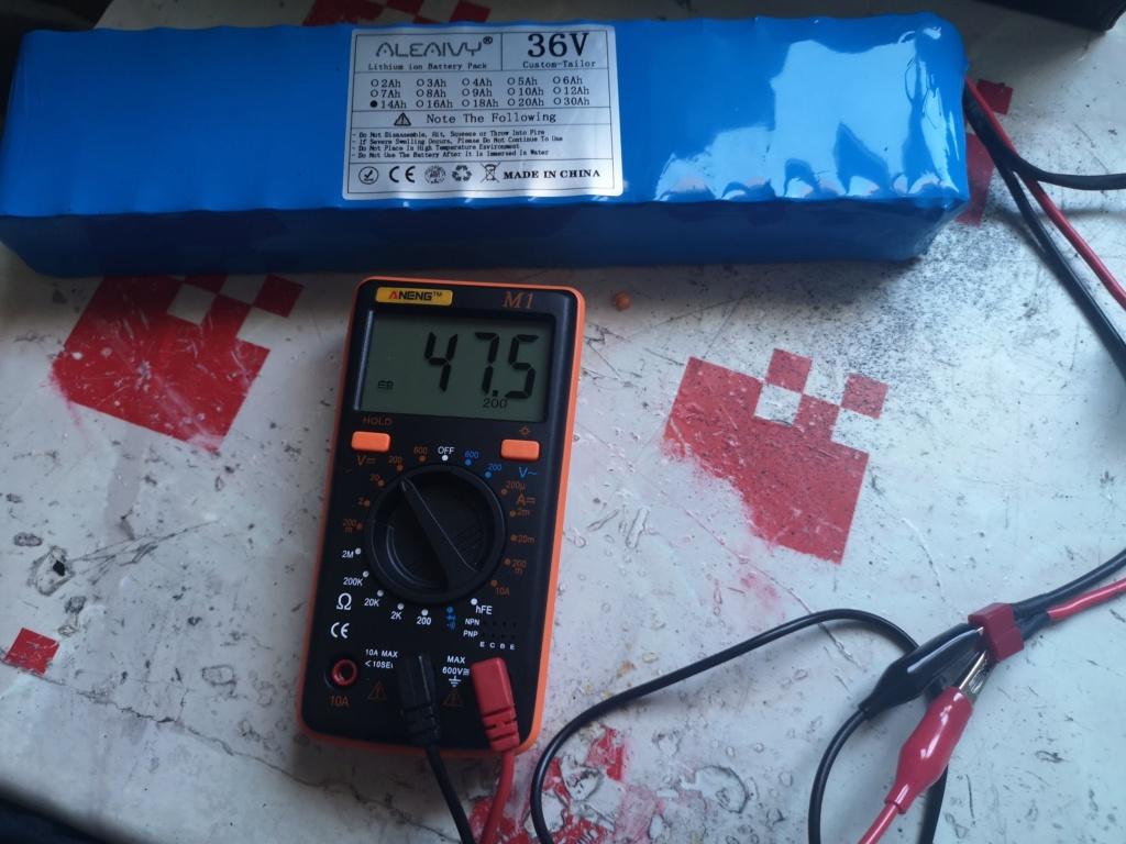Nueva batería de 36v. Voltaj10