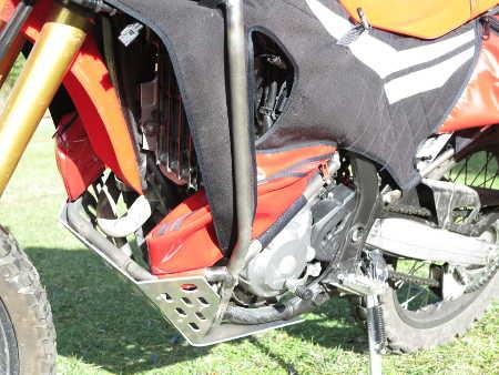 crash barre crf 250 rally Crf610