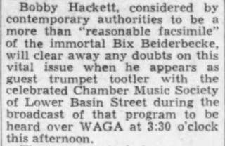 Chamber Music Society of Lower Basin Street 1940-011