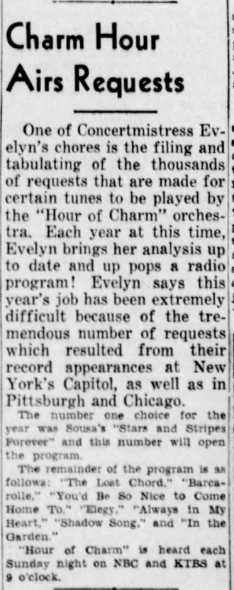 Hour Of Charm 1943-113