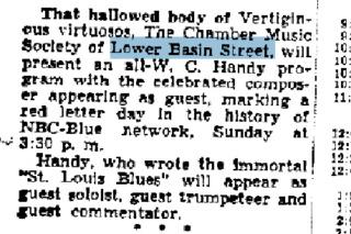 Chamber Music Society of Lower Basin Street 40-06-10