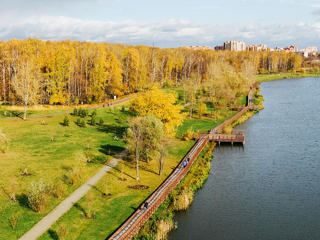 Лосиноостровский вошёл в число лучших районов Москвы по экологическим показателям S_310