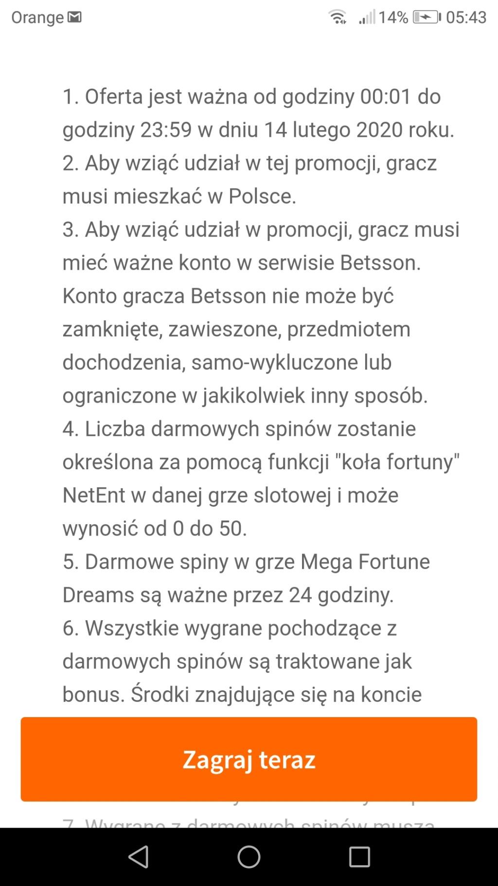 Betsson Kasyno darmowe bonusy - Page 3 Screen11