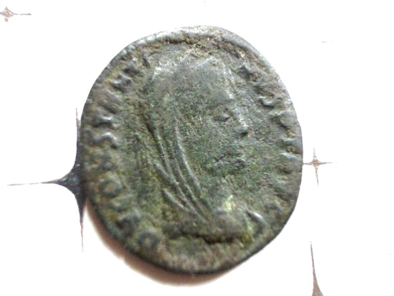 2 Monnaies Constantin Ier (Divinisé) a ID Webca123