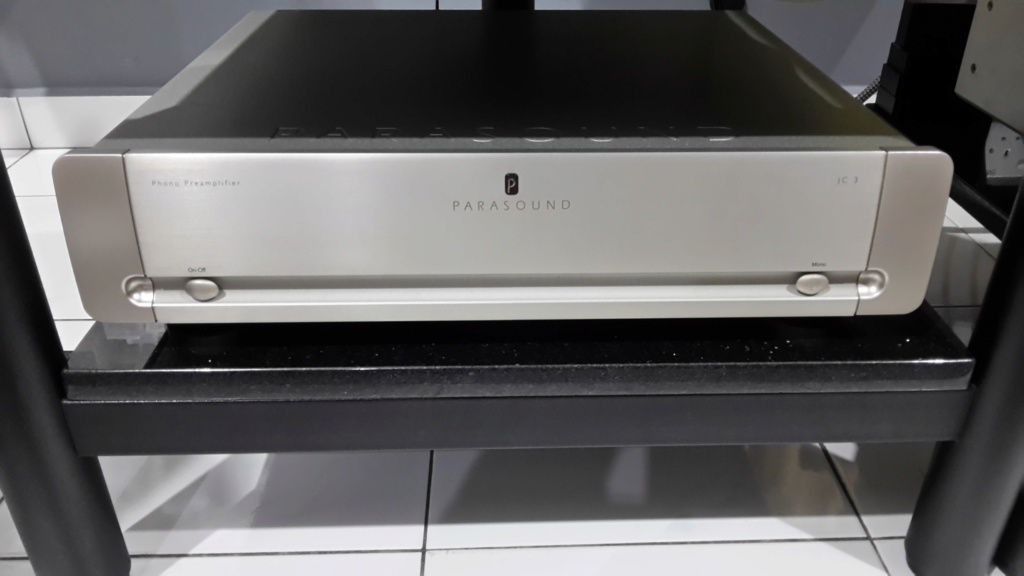 Parasound JC3 Phono Preamplifier (used)  20200410