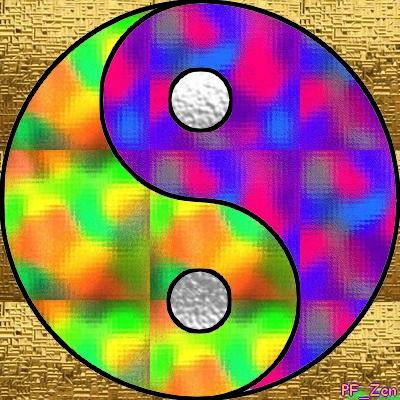 """N° 55  PhotoFiltre Studio """" Effet """" Vitrail méthode 2""""Édition utilisée comme motif """"  Pfz-n511"""