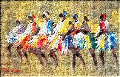 """N° 73 EXERCICES """"Effet """"Huile sur toile"""" """" Pfz_n714"""